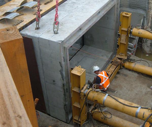 Box Culvert Jacking Tunnelcorp Pty Ltd Microtunnelling