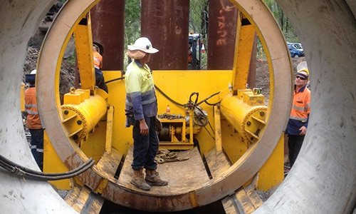 Microtunnelling Specialists - Auger Boring - Laser Guided Pipe
