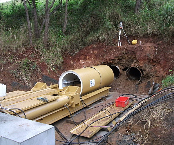 Laser Guided Pipe Jacking Specialists - Tunnelcorp Pty Ltd